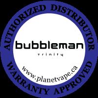 Bubbleman Trinity Tank Authorized Distributor Warranty Approved