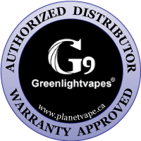 G9 Greenlightvapes TC Port Replacement Glass Bubbler Authorized Distributor Warranty Approved