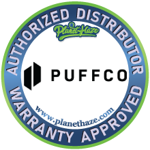 Puffco Peak authorized distributor warranty approved
