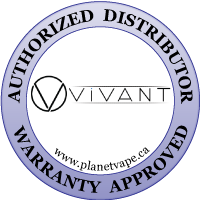 Vivant Vaporizer v3 Top Cap Authorized Distributor Warranty Approved