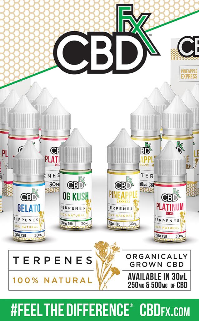 CBDfx Terpenes Vape Juice
