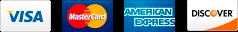 visa mastercard amex discover