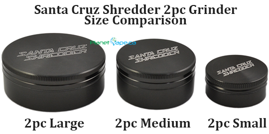 Santa Cruz Shredder 2 Piece Size Comparison