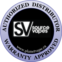 Source Vapes authorized distributor warranty approved