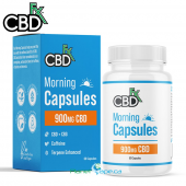 CBDfx CBD + CBG Morning AM Capsules 900mg