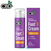 CBDfx CBD Foot Cream 500mg