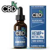 CBDfx CBD Hemp + MCT Blueberry Pineapple Lemon CBD Tincture Oil