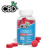 CBDfx CBD Gummies Mixed Berry 60ct Bottle