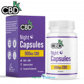 CBDfx CBD + CBN Night PM Capsules 900mg