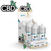 CBDfx CBD Terpenes Oil Gelato 6 Pack Refill Box