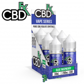 CBDfx CBD Vape Juice Blue Raspberry Refill Box