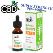 CBDfx Wellness CBD + CBG MCT Oil Tincture 2:1