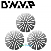 DynaVap Stainless Steel Circumferential Compression Diffuser CCD 3 Pack Screens