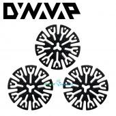 DynaVap Titanium Circumferential Compression Diffuser CCD 3 Pack Screens