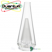 Puffco Peak Glass Bubbler by Quantum Glassworks