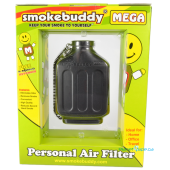 SmokeBuddy Mega Black Back