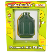 SmokeBuddy Mega Green Back