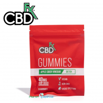 CBDfx CBD Gummies with Apple Cider Vinegar 8ct Pouch