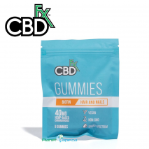CBDfx CBD Gummies with Biotin 8ct Pouch