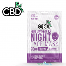 CBDfx CBD Lavender Night Face Mask