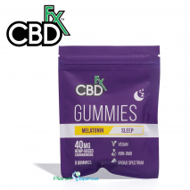 CBDfx CBD Melatonin Gummies 8ct Pouch