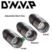 DynaVap Titanium Tip Adjustable Bowl