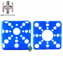 Haze Square Silicone Sleeve Blue