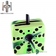 Haze Square Silicone Sleeve Multicolor Green On Square