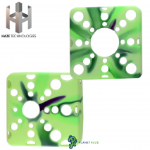 Haze Square Silicone Sleeve Multicolor Green