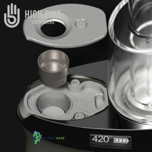 High Five DUO Smartest Wireless E-Rig Vaporizer Atomizer Assembly
