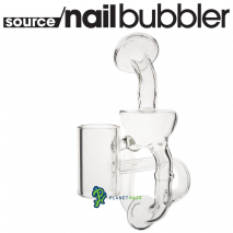 SOURCE nail XL Glass Recycler Back