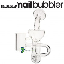 SOURCE nail XL Glass Recycler Back Side