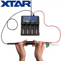 XTAR Dragon VP4 Plus Battery Charger Battery Testing