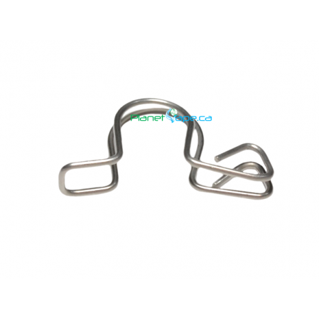 Stainless Steel Keck Clips 14mm Joint Size