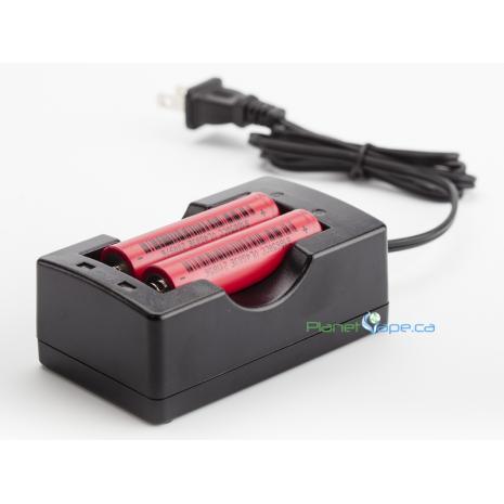 Arizer Air / Air II / ArGo Vaporizer External Dual Battery Charger