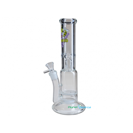 Black Leaf HoneyComb Multi-Level Stemless Tube