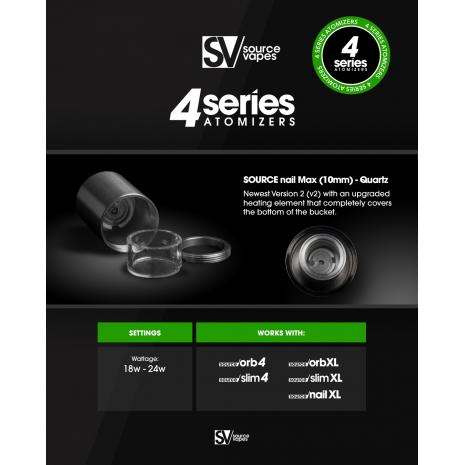4 Series SOURCE nail Max Quartz