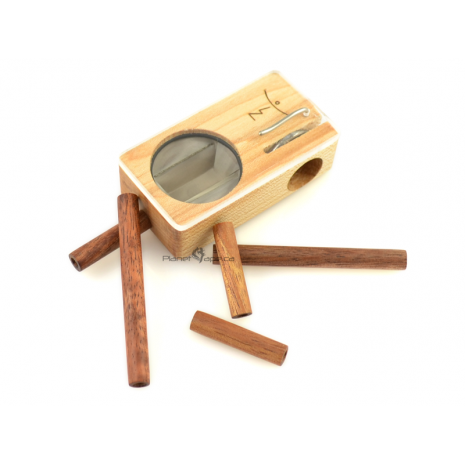 Exotic Wood Stem (Short) - Koa Launch Box