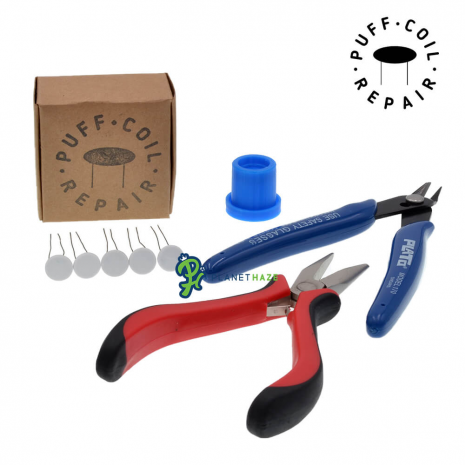 Puff Coil Repair Kit for Peak Atomizers With Tools
