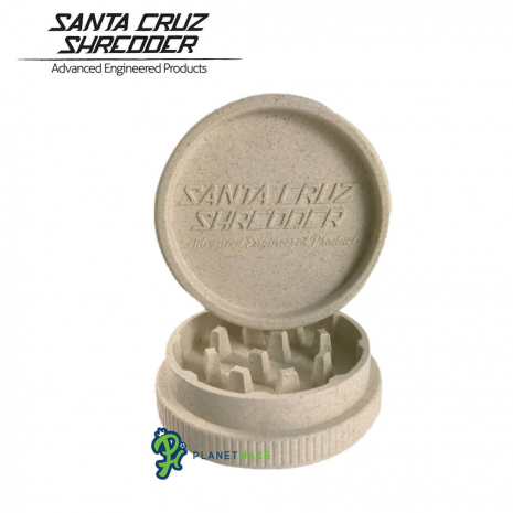 Santa Cruz Shredder Pure Hemp Grinder 2 Piece Bottom