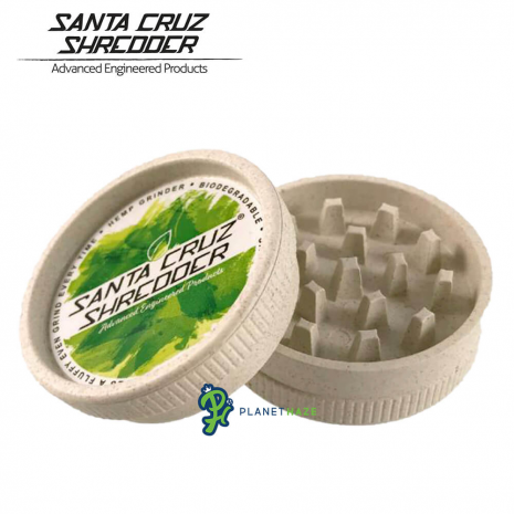 Santa Cruz Shredder Pure Hemp Grinder 2 Piece