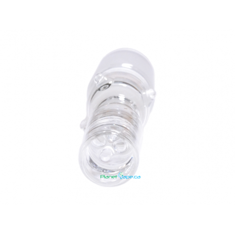 Solo Ground Glass on Glass Adapter 18mm No Carb Bottom