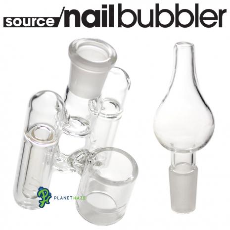 SOURCE nail XL Glass Spaceship 2 Piece Percolator