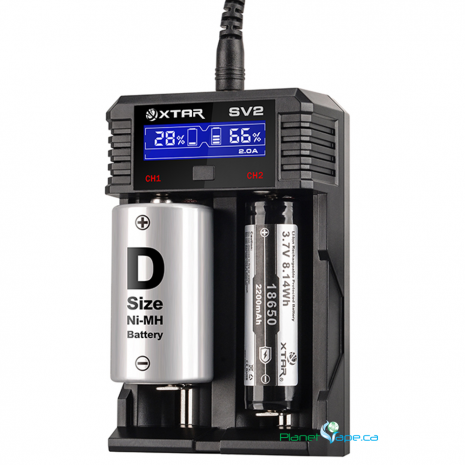 XTAR Rocket SV2 Battery Charger