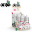 CBDfx CBD Terpenes Platinum Rose 6 Pack Refill Box