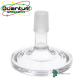 Hydra Foot Glass Stand By Quantum Glassworks 18mm